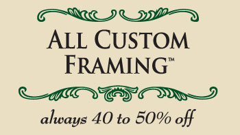 Custom Framing Wholesale Logo
