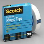 Scotch Magic Tape (removable)